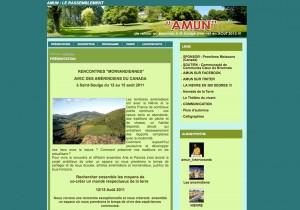 """Blog pour un évènement """"Amun"""""""