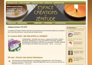 site espace-creations-zenitude