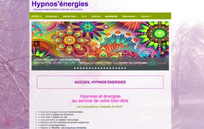 Site d'Isabelle ALANIC thérapeute