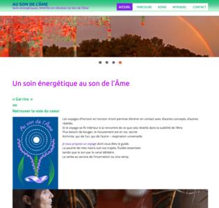 ausondelame.fr site Nicole Legrand